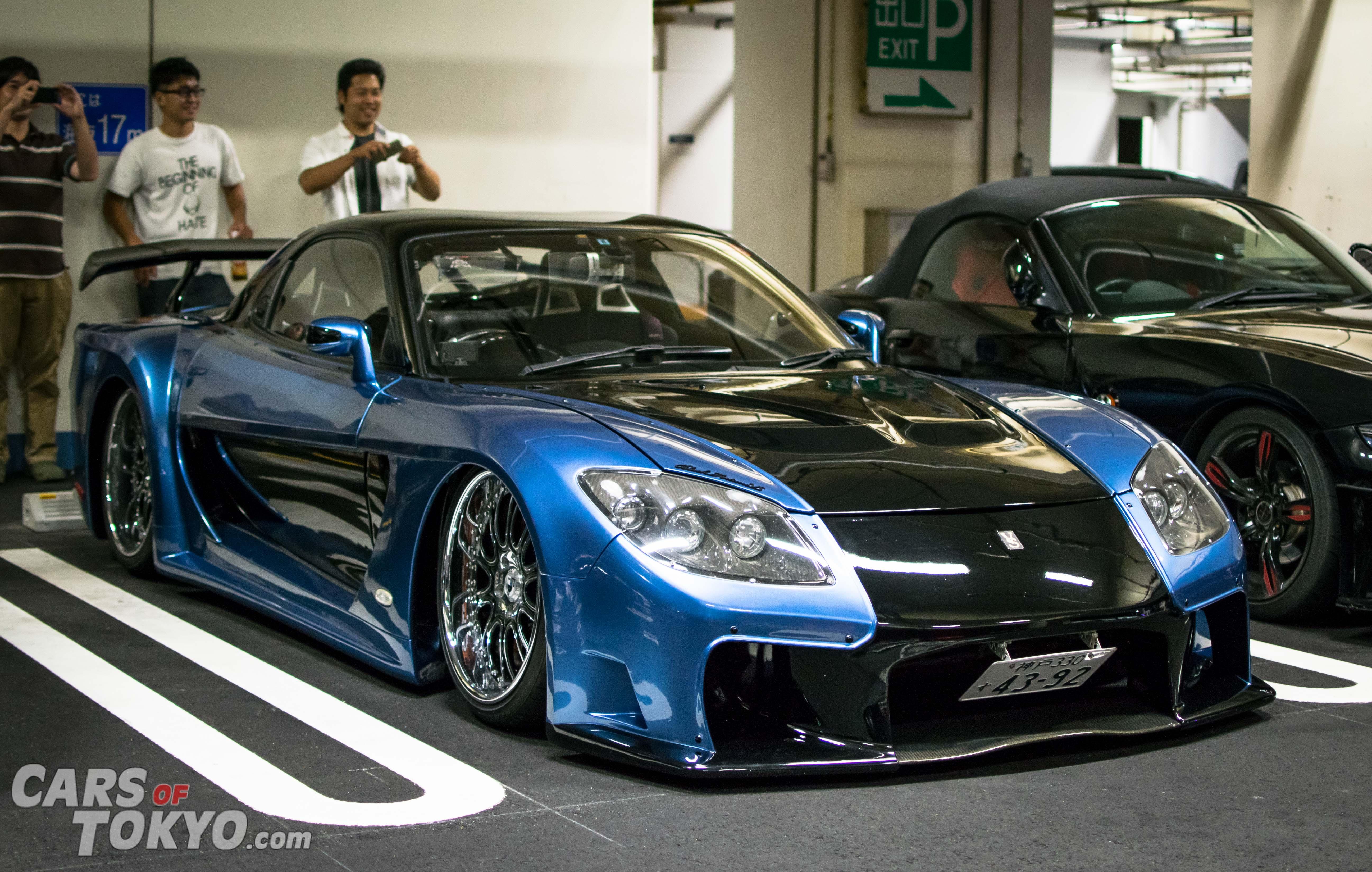 Cars of Tokyo Mazda RX7 Veilside