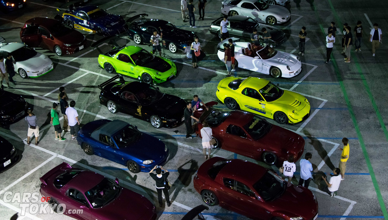 Cars of Tokyo Mazda RX7 Meet