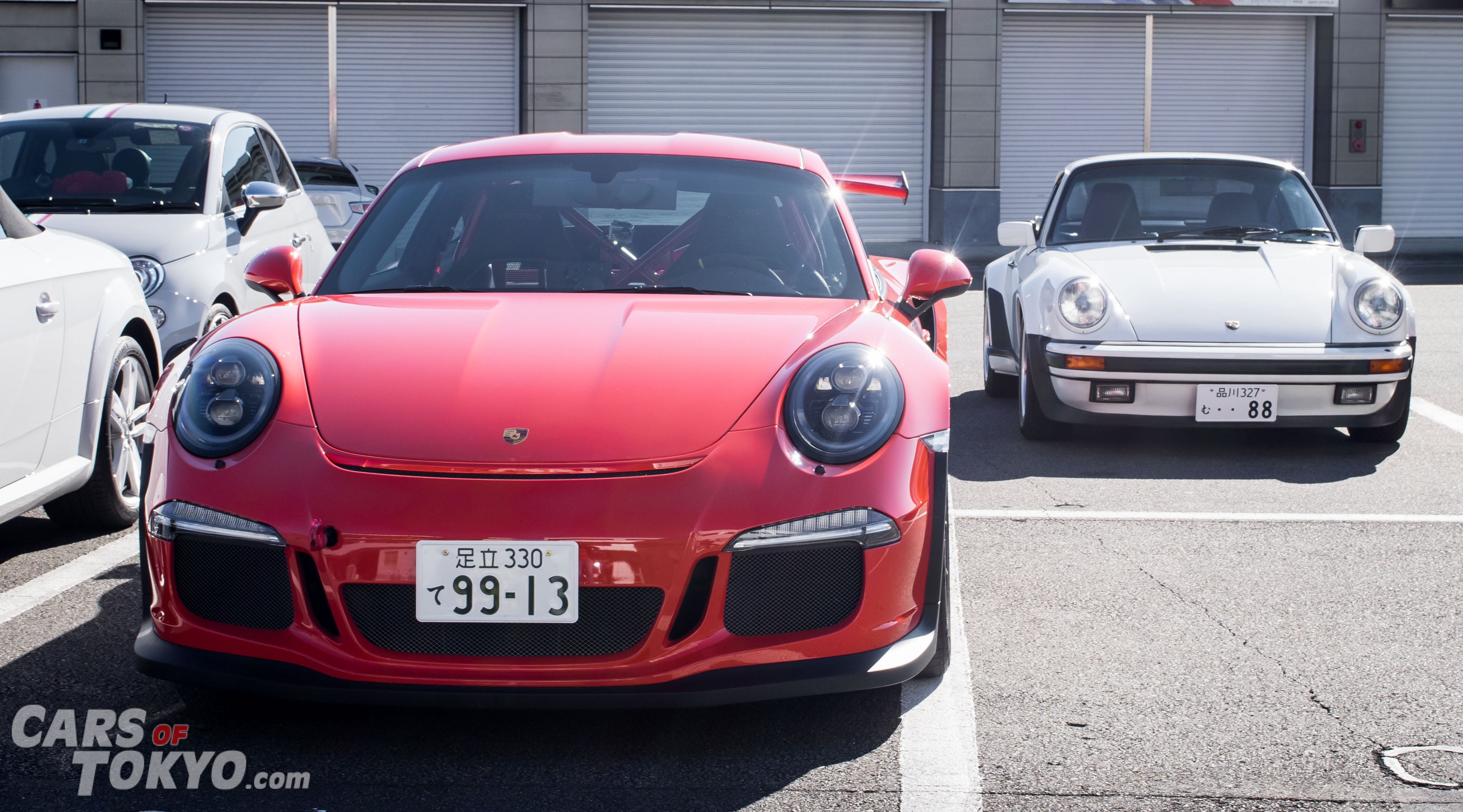 Cars of Tokyo Porsche 911 GT3 RS & 930 Turbo