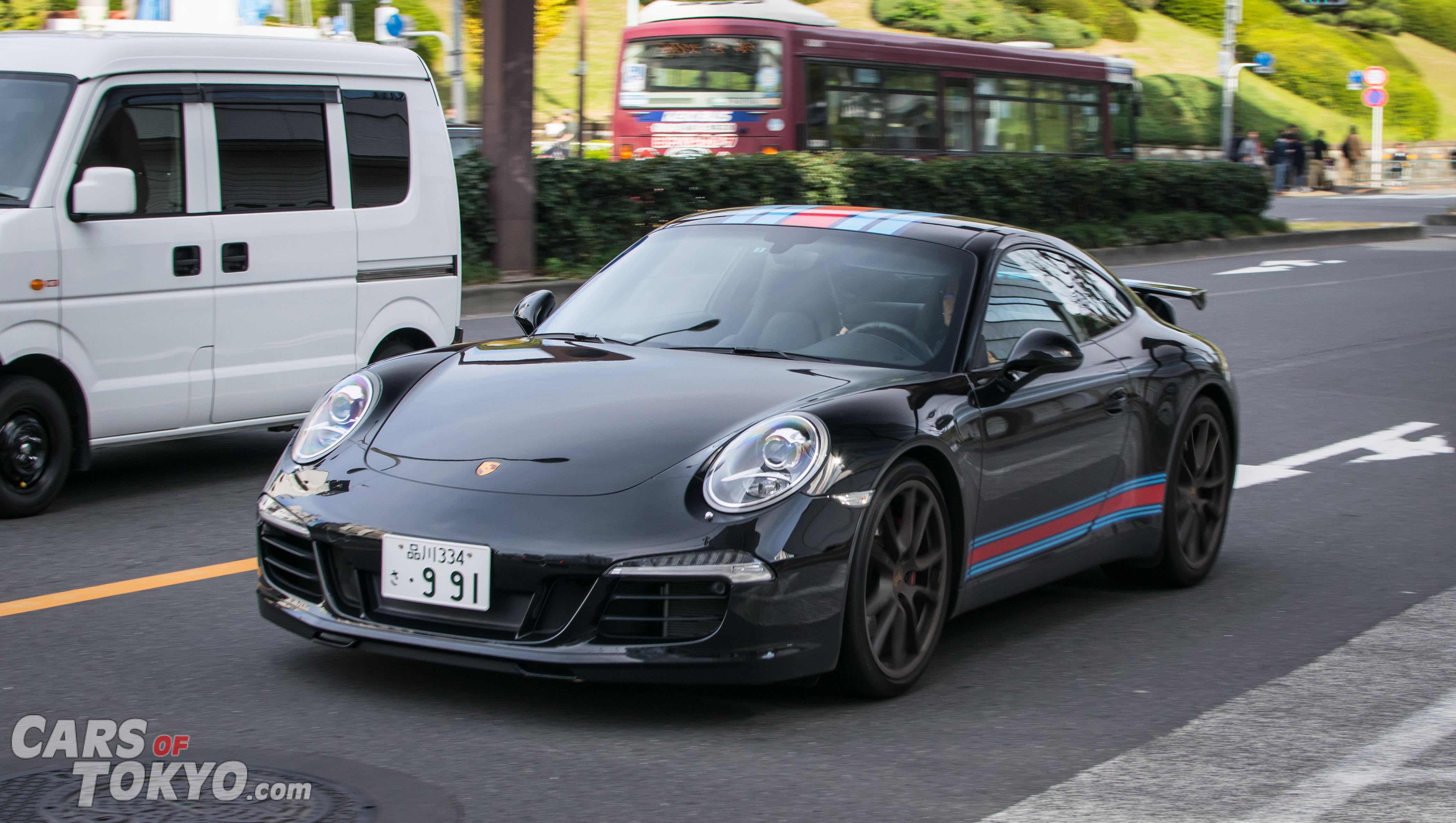 Cars of Tokyo Porsche 911 Martini