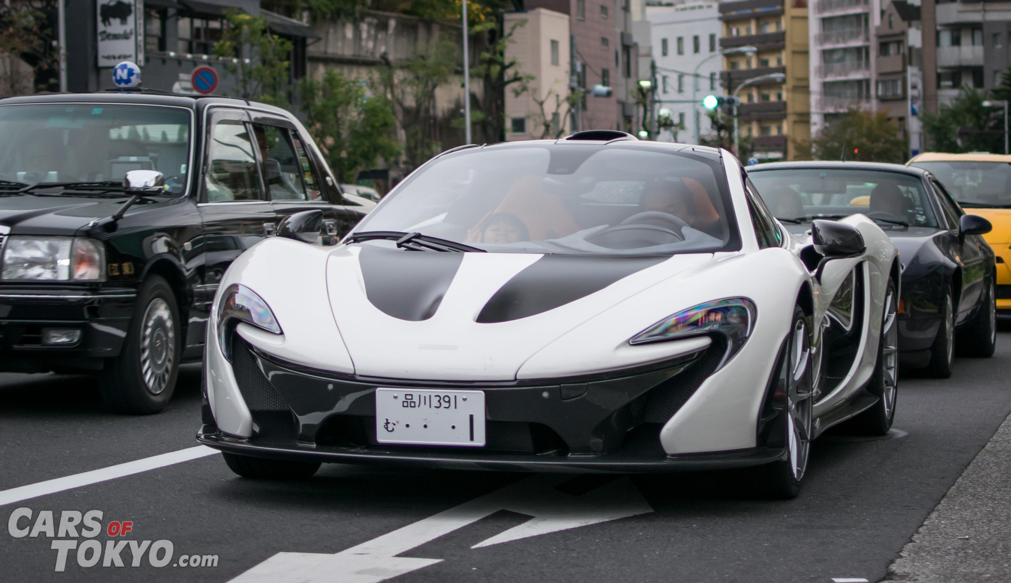Cars of Tokyo Roppongi McLaren P1