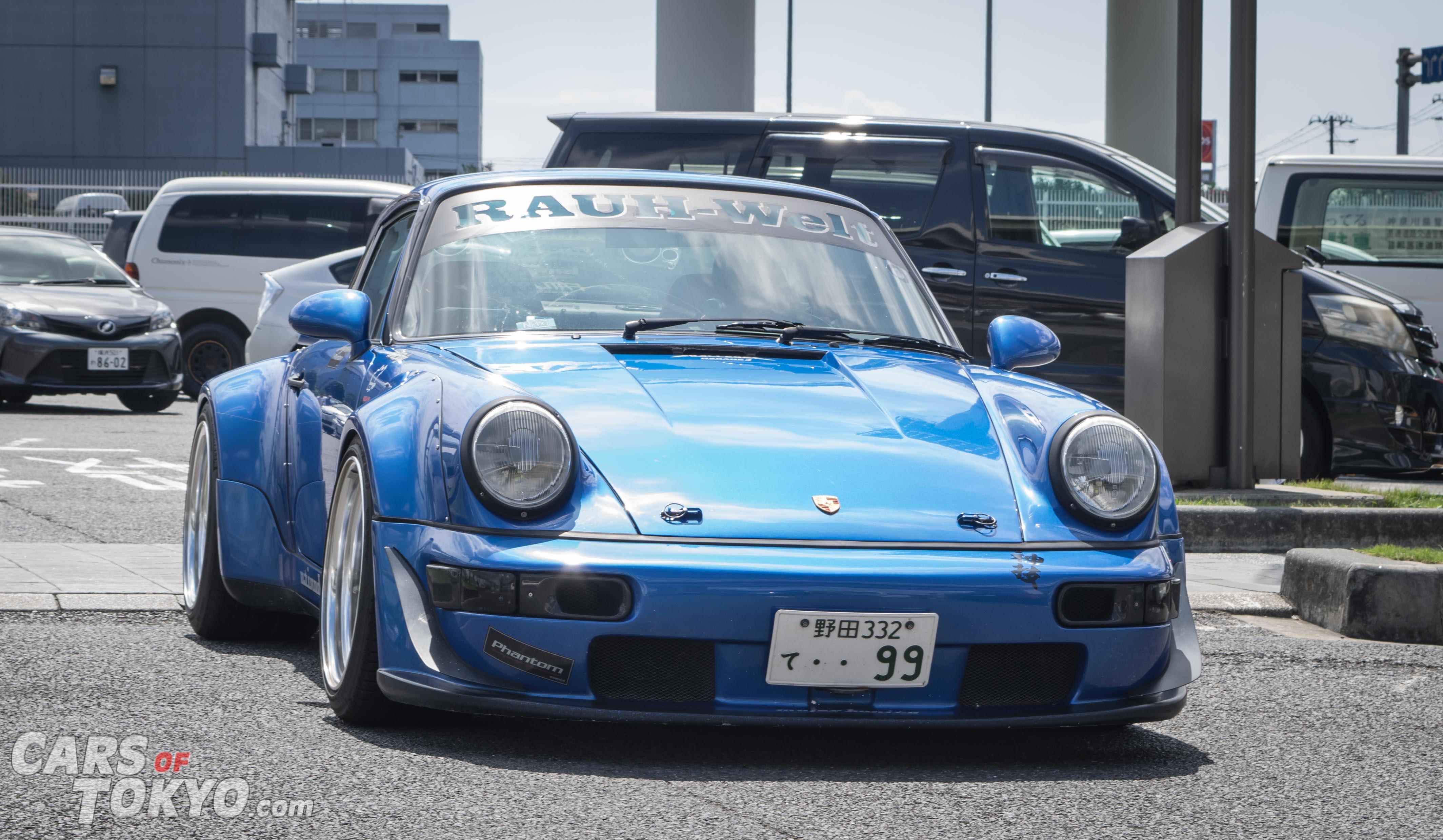Cars of Tokyo RWB Porsche 911 964 Blue