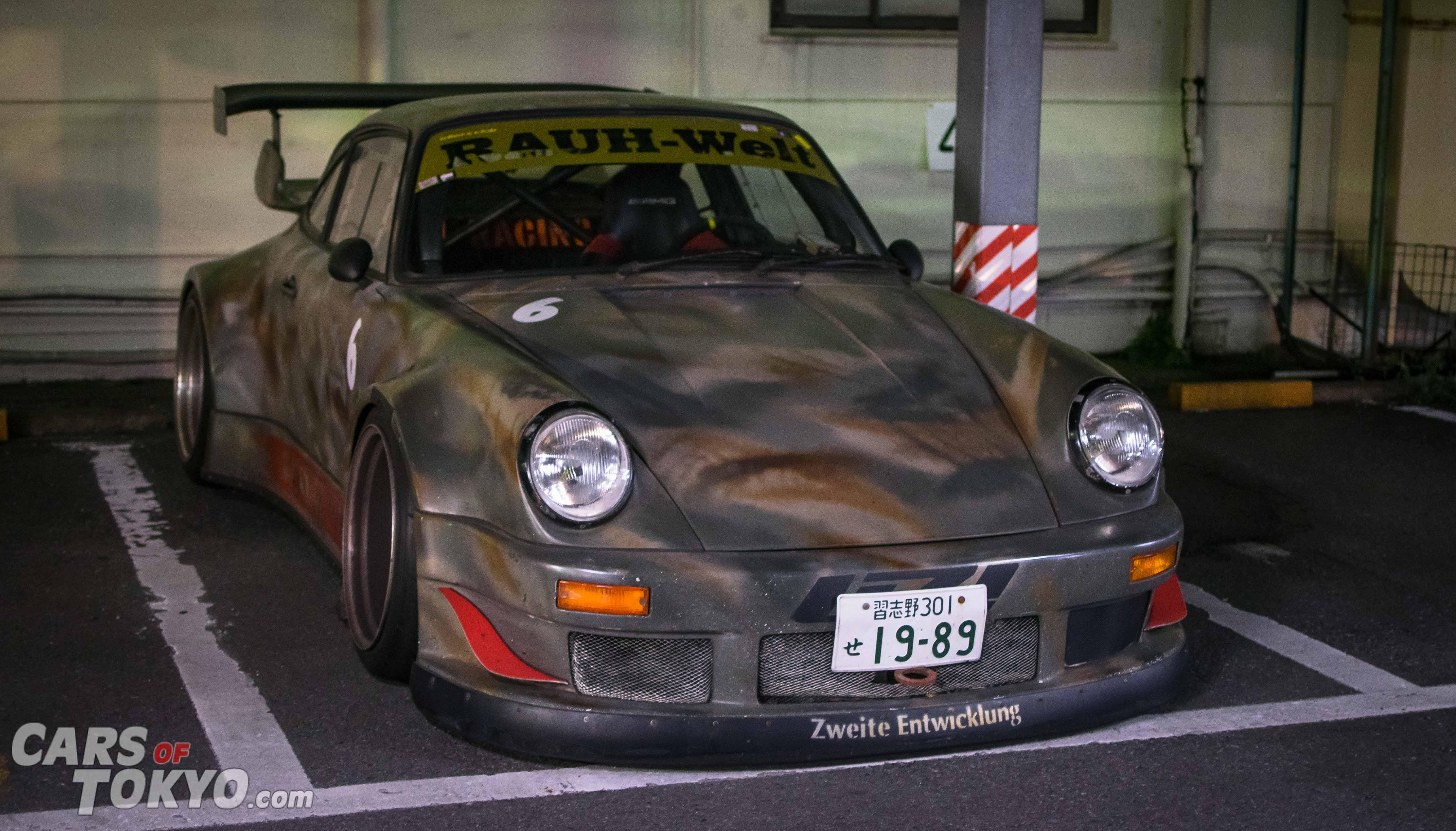 Cars of Tokyo RWB Porsche 911 Car Park