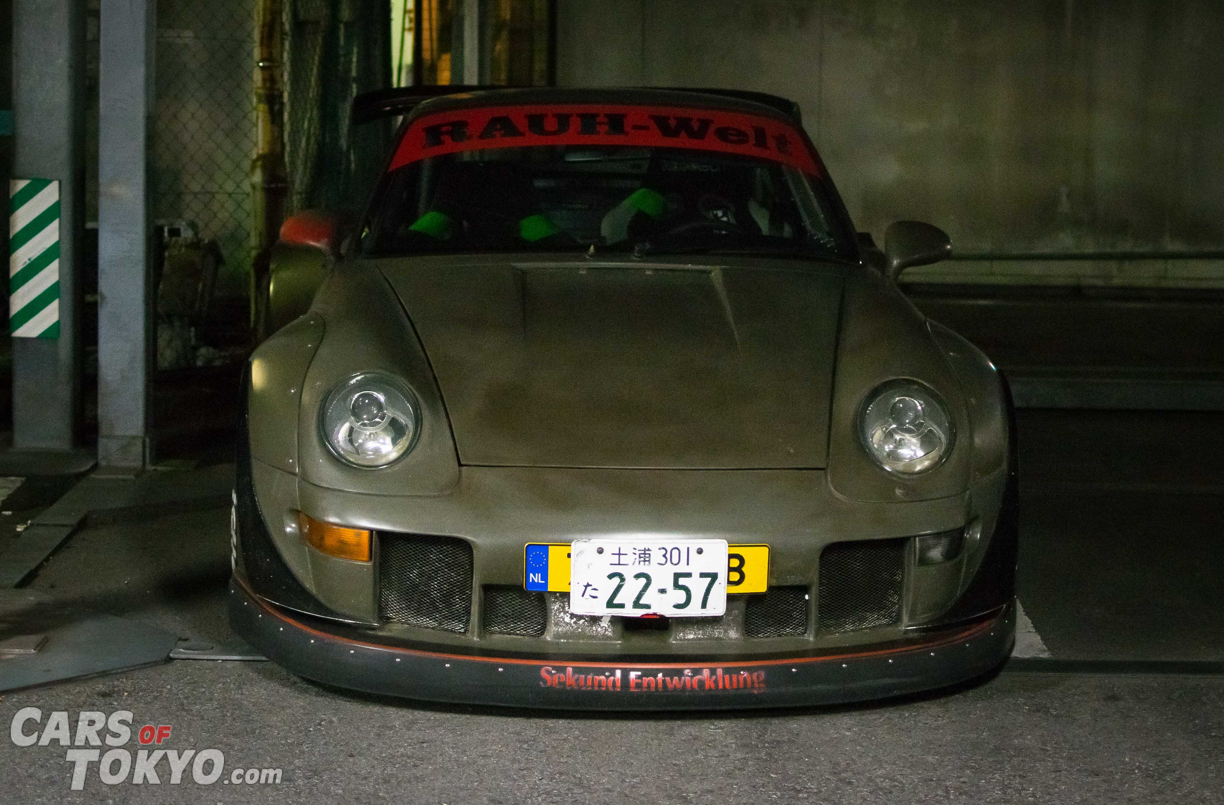 Cars of Tokyo RWB Porsche 911 Camo