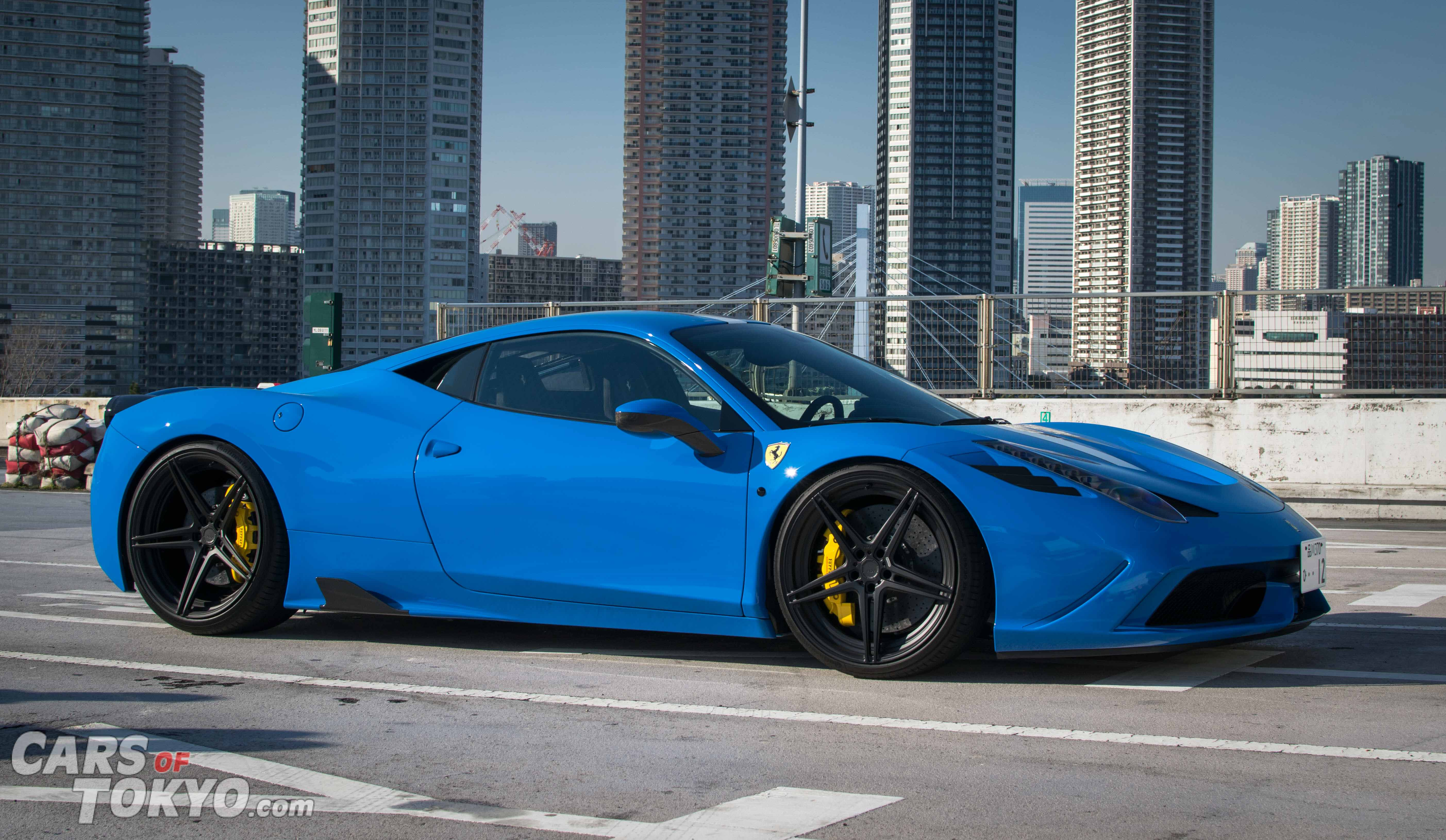 Cars of Tokyo Tatsumi Ferrari 458 Speciale