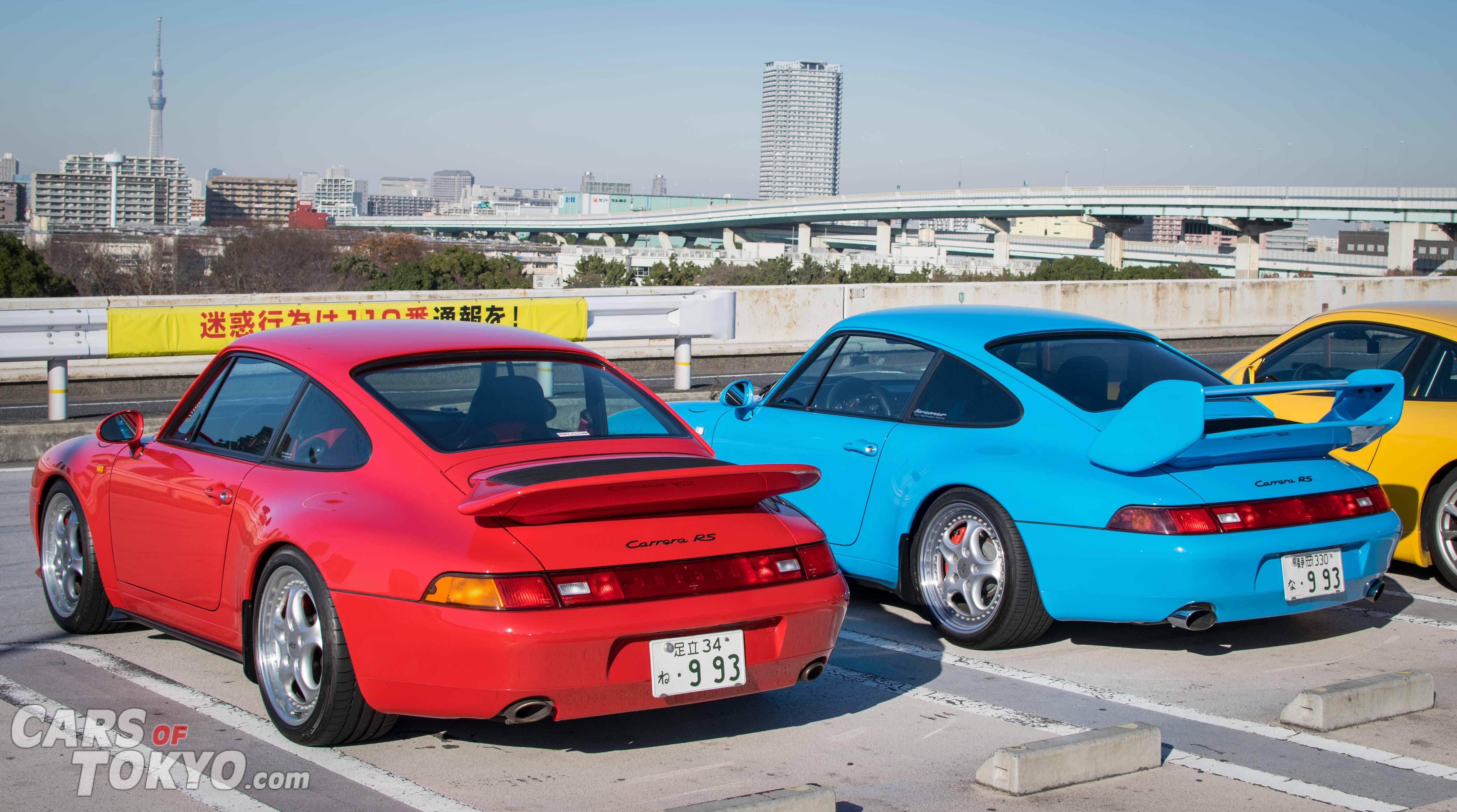 Cars of Tokyo Tatsumi Porsche 911 Carrera RS