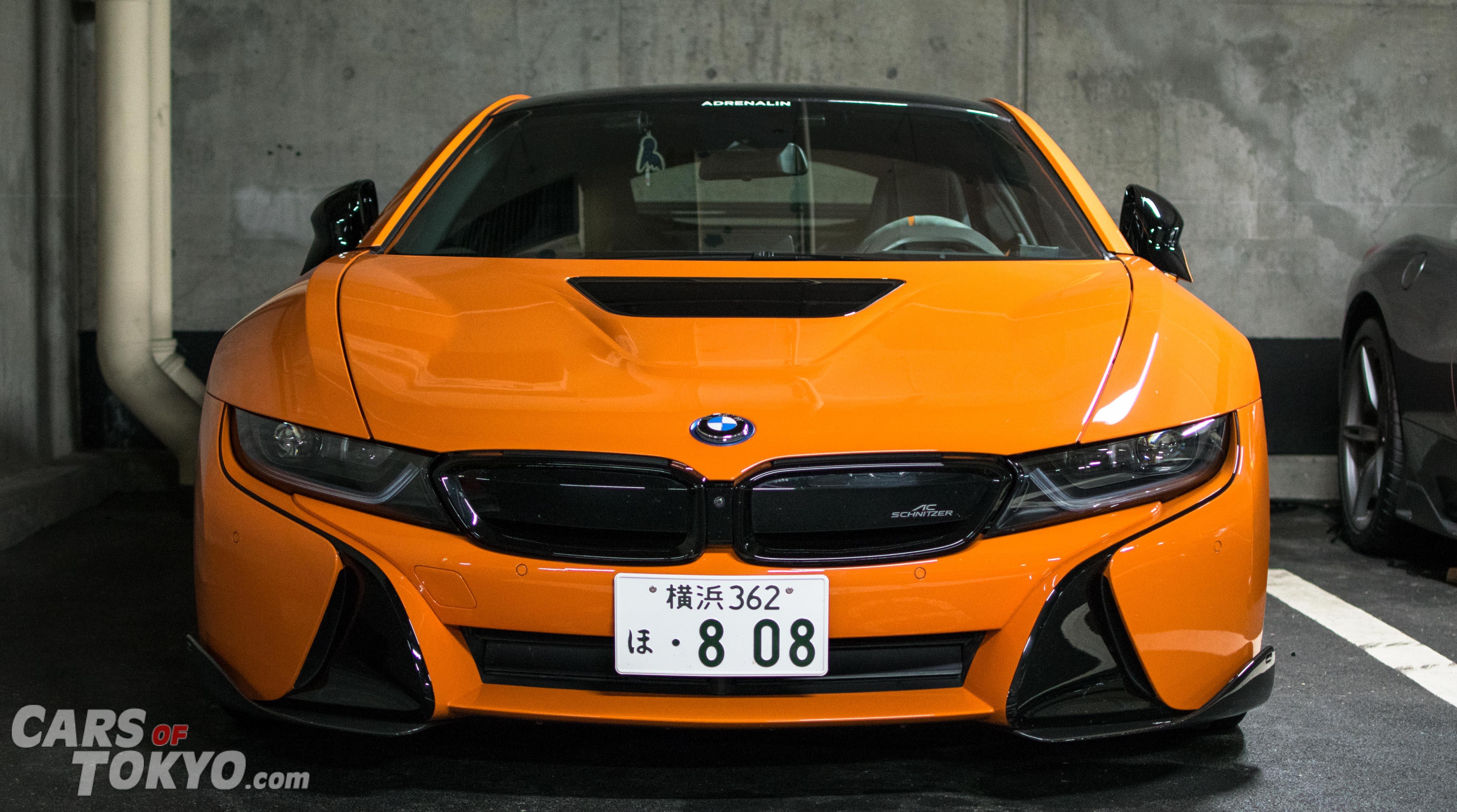 Cars of Tokyo Underground BMW i8