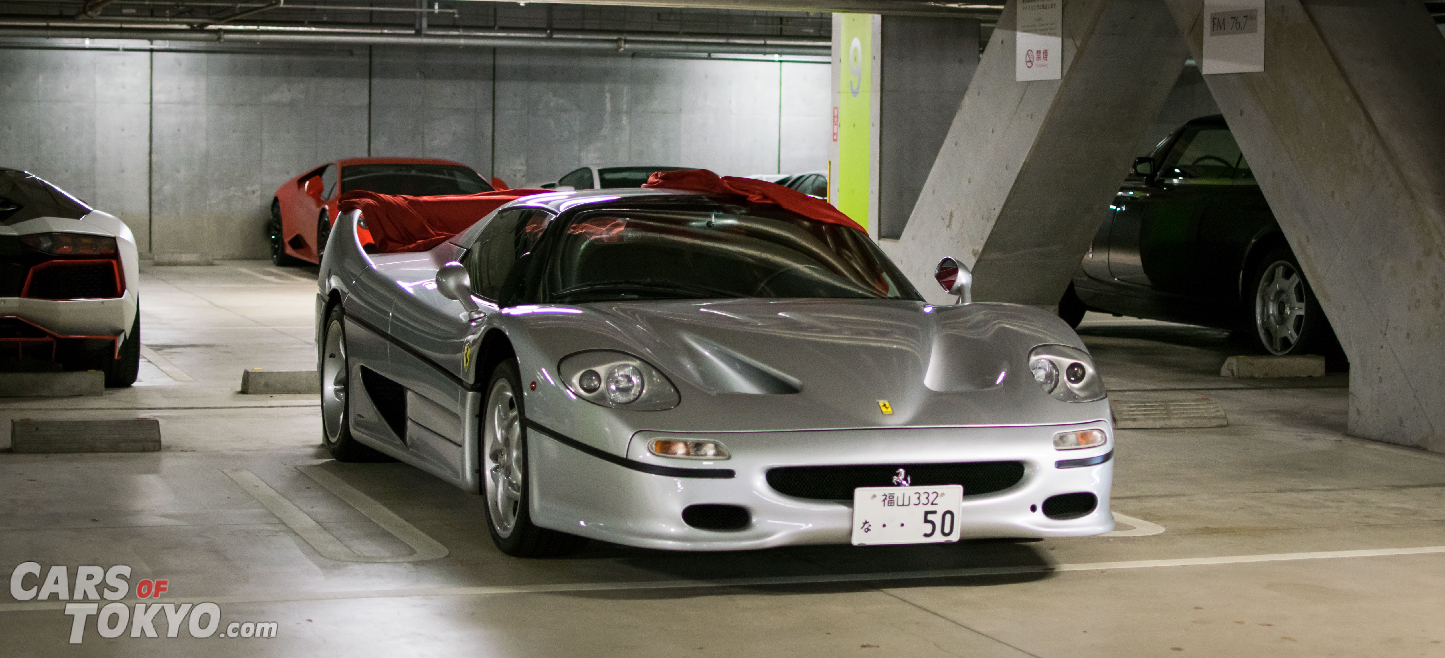Cars of Tokyo Underground Ferrari F50