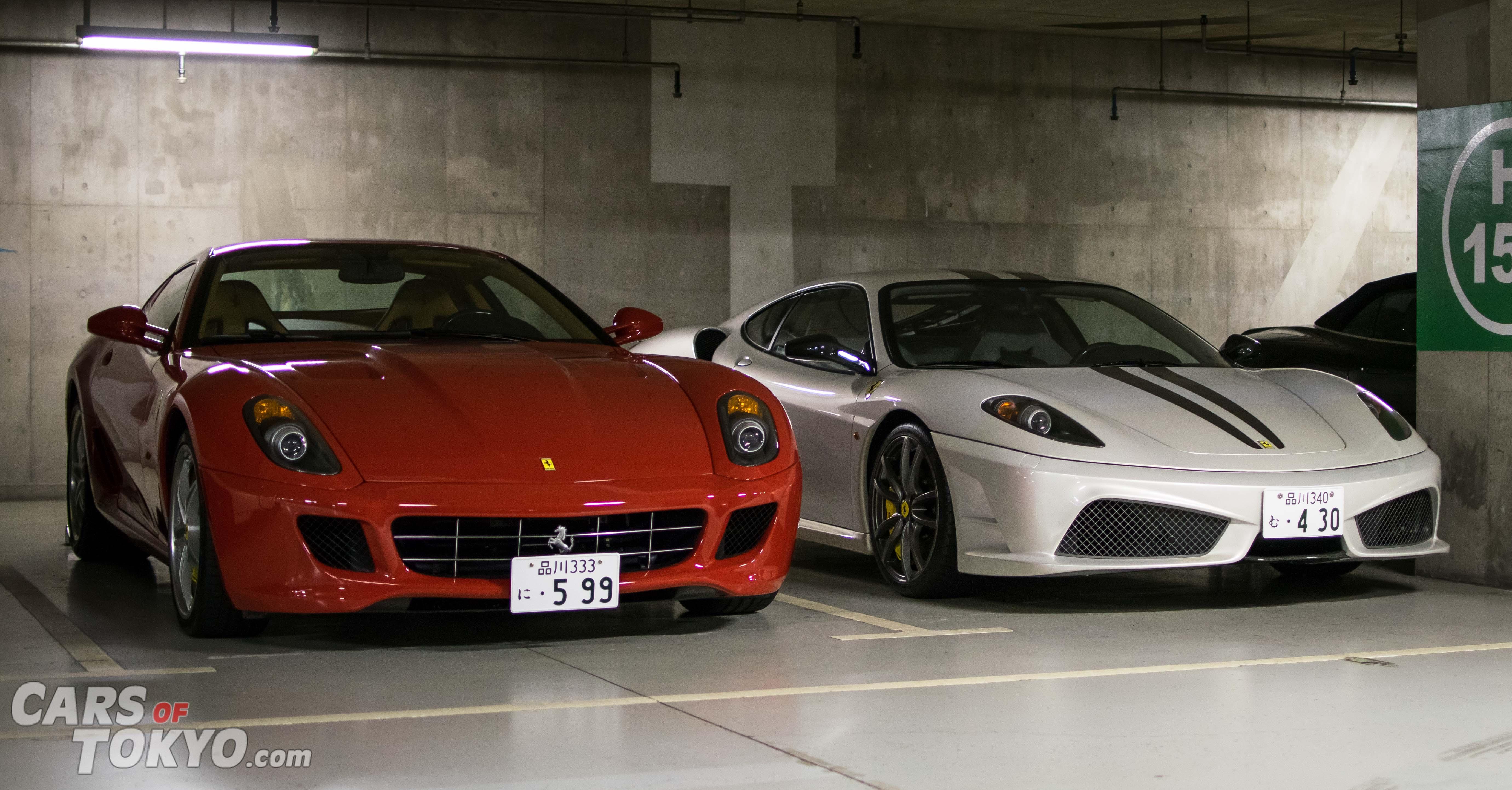 Cars of Tokyo Underground Ferrari 599 & 430 Scuderia