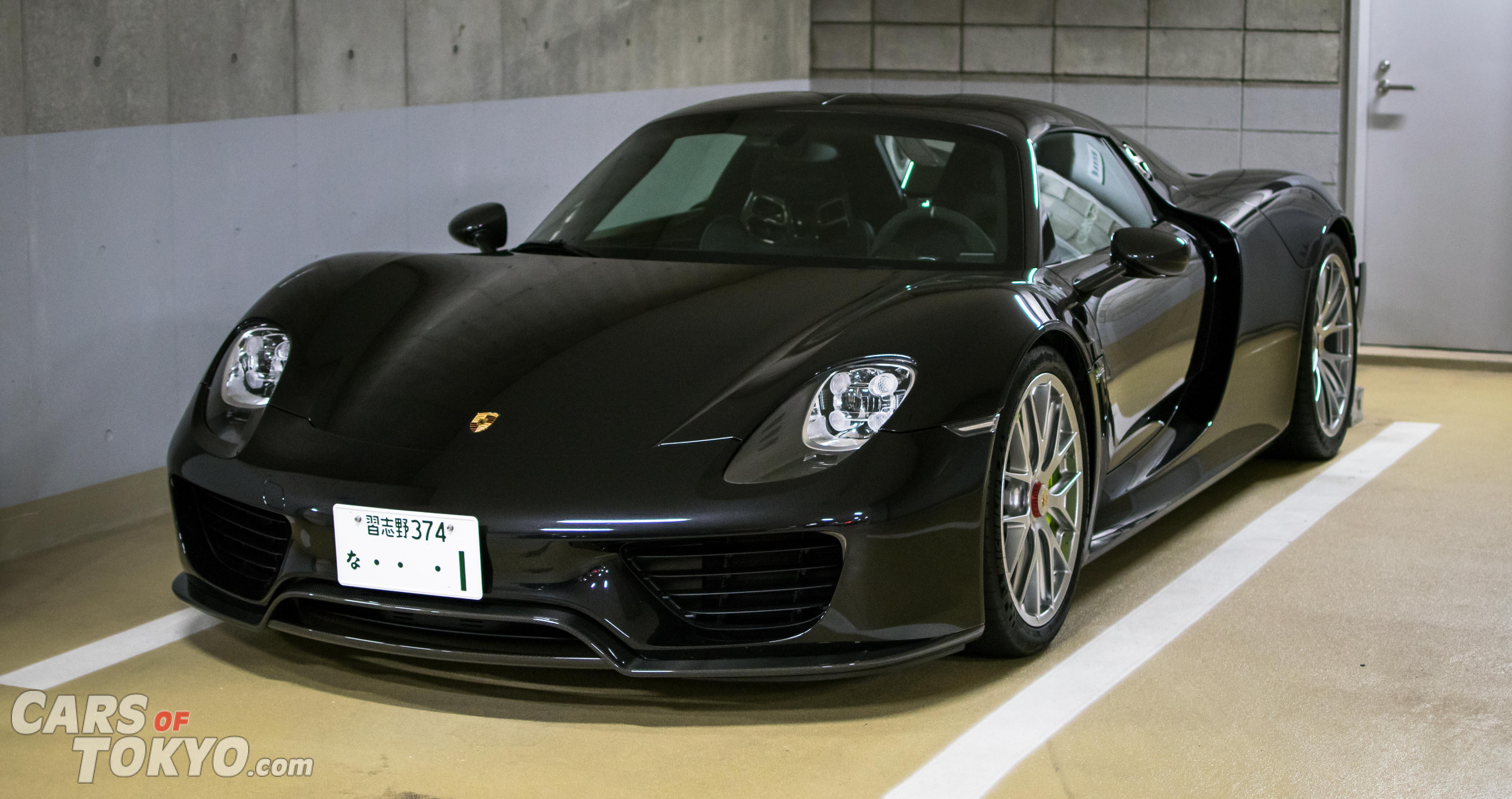 Cars of Tokyo Underground Porsche 918 Spyder