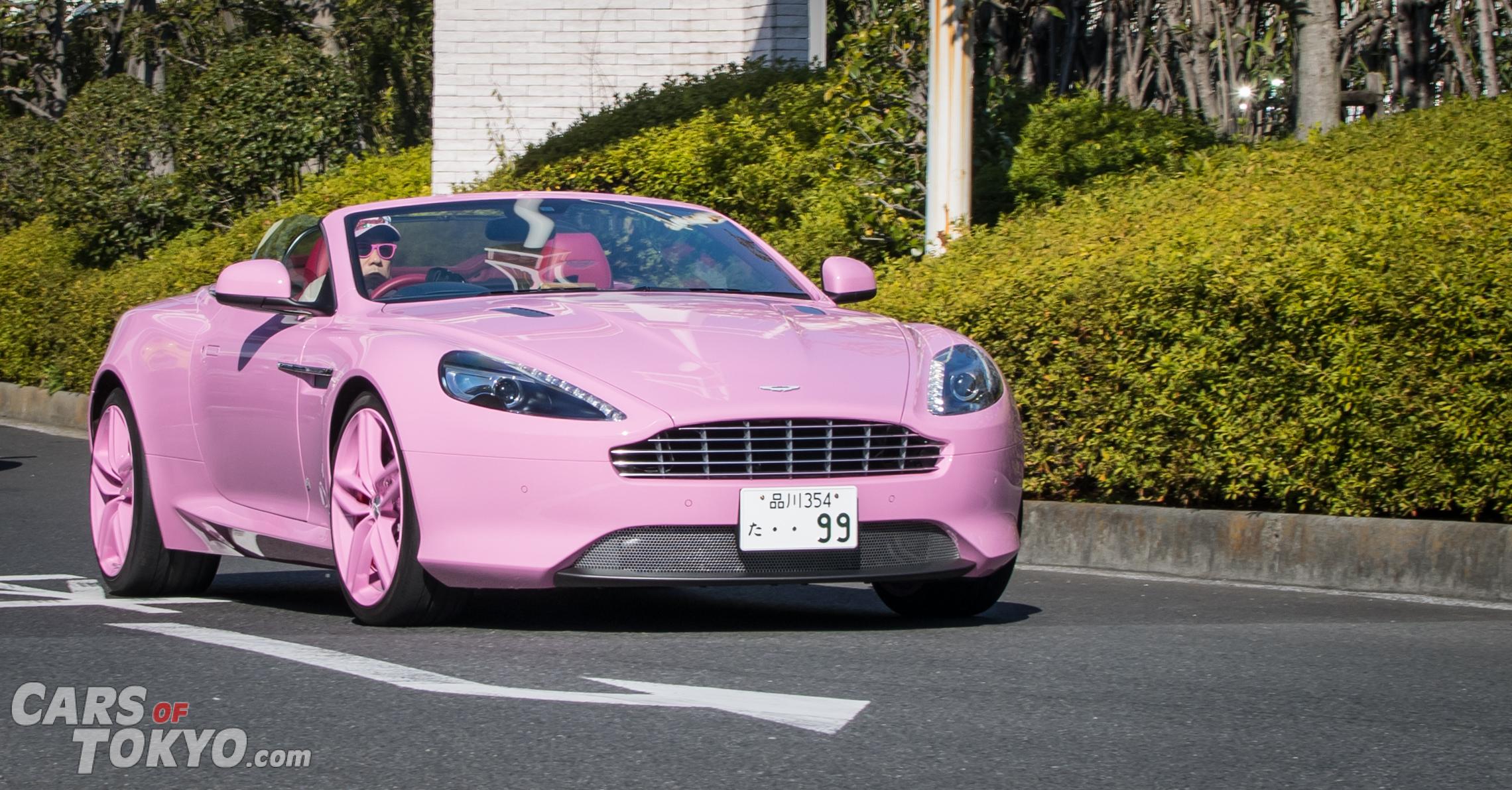 Cars of Tokyo Unusual Spec Aston Martin DB9