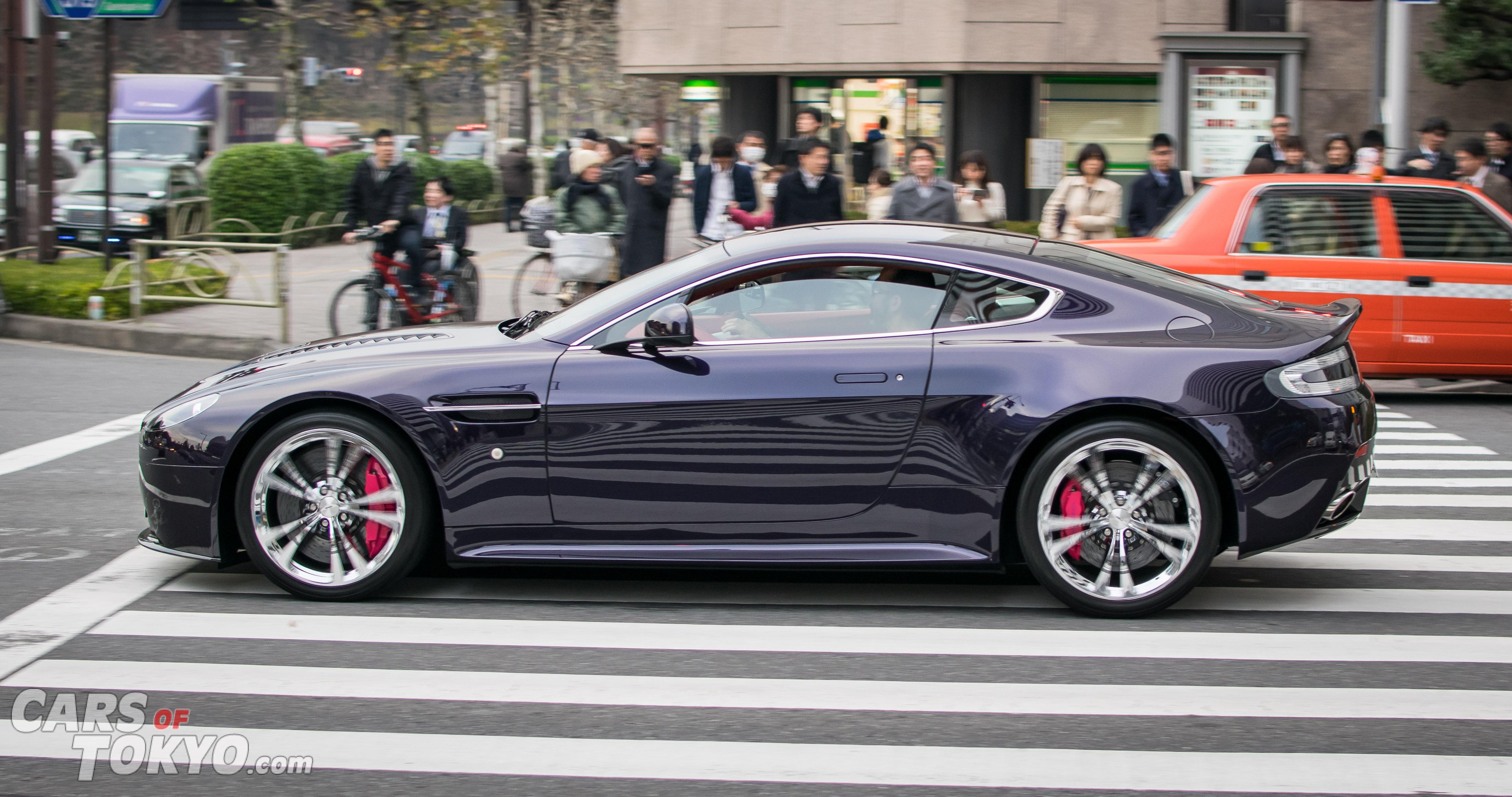 Cars of Tokyo Unusual Spec Aston Martin V12 Vantage