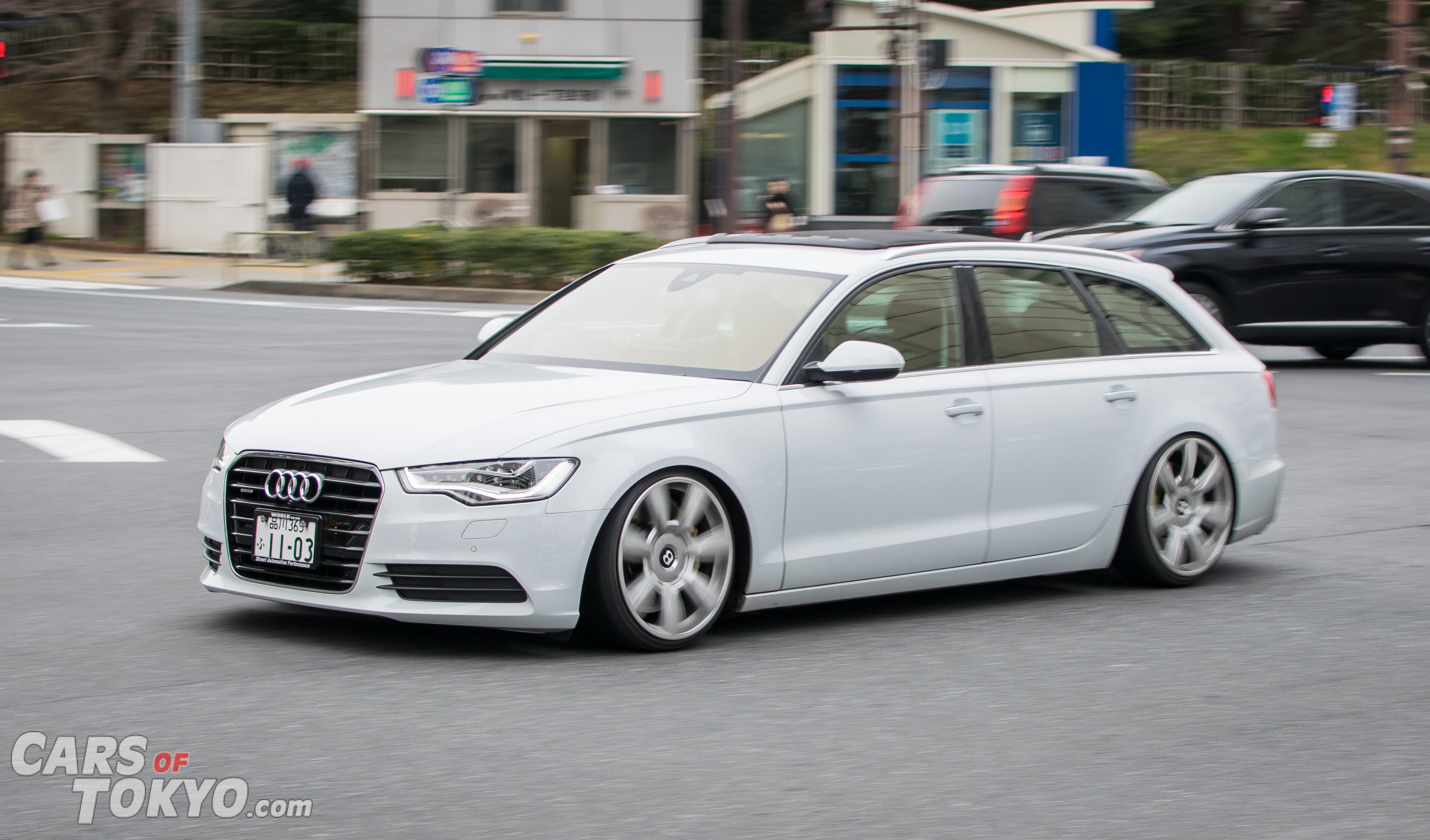 Cars of Tokyo Unusual Spec Audi A6