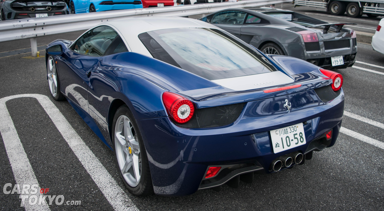 Cars of Tokyo Unusual Spec Ferrari 458 Italia