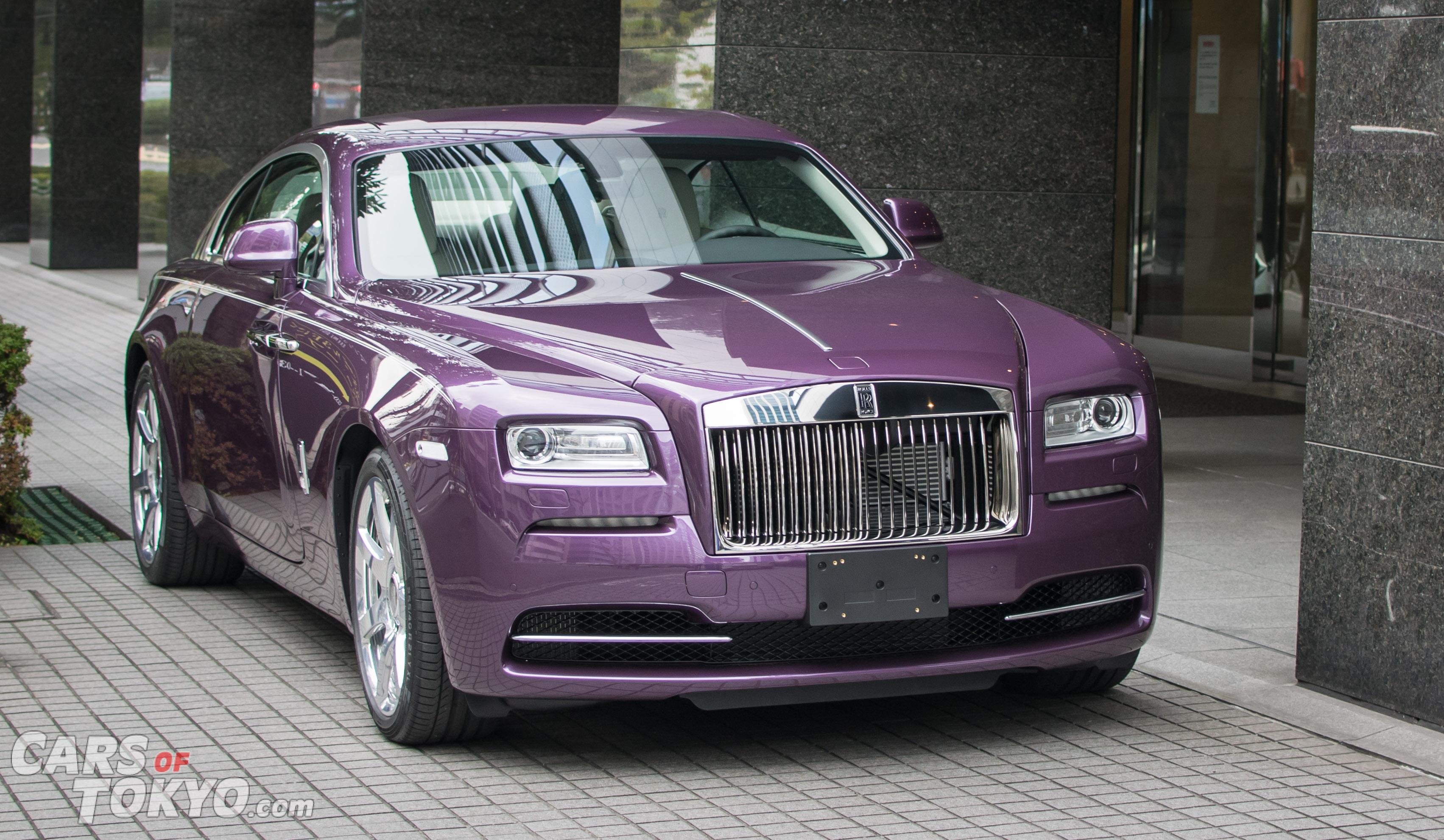 Cars of Tokyo Unusual Spec Rolls Royce Wraith