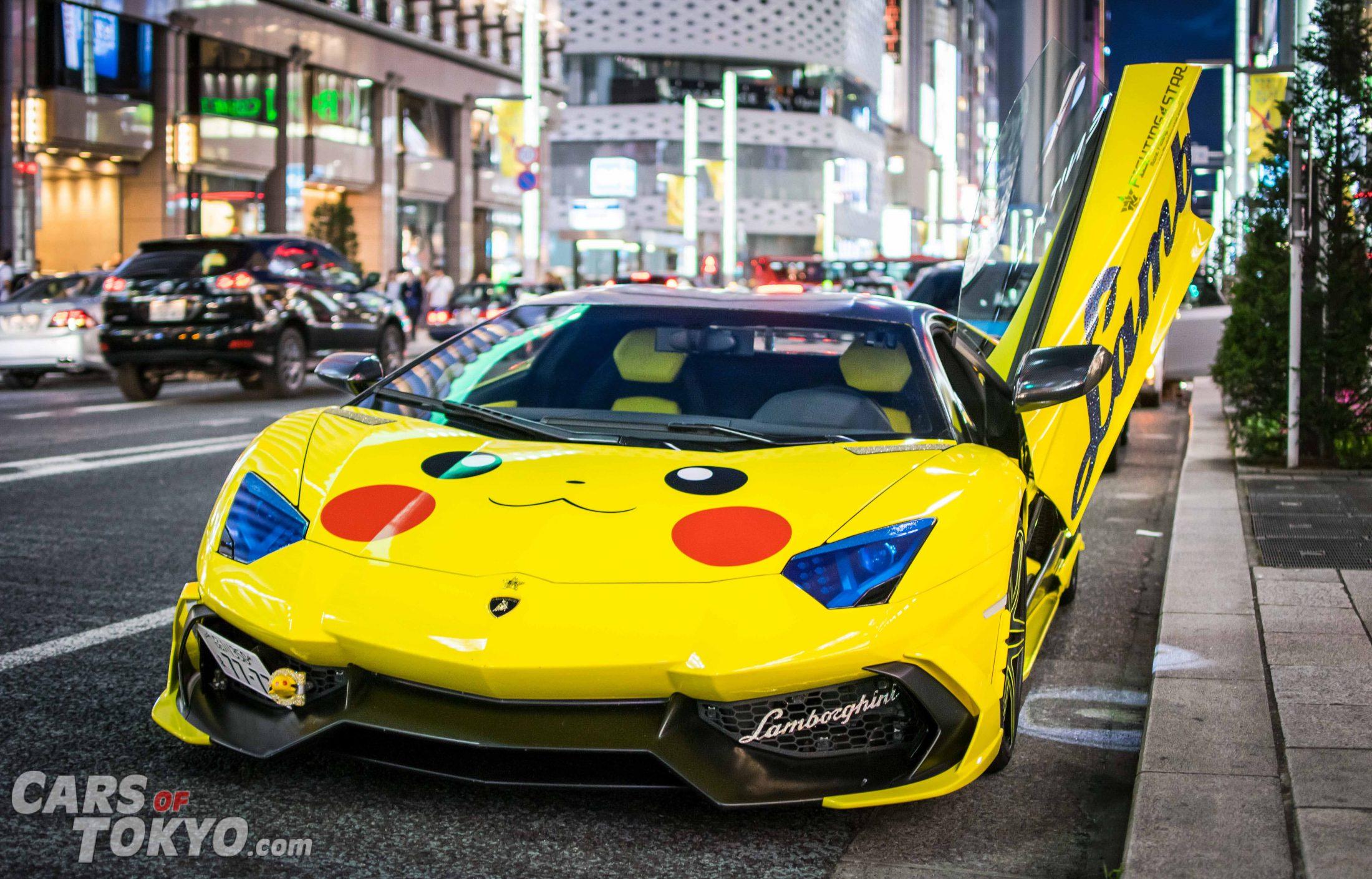 cars-of-tokyo-modified-lamborghini-aventador-morohoshi-pikachu